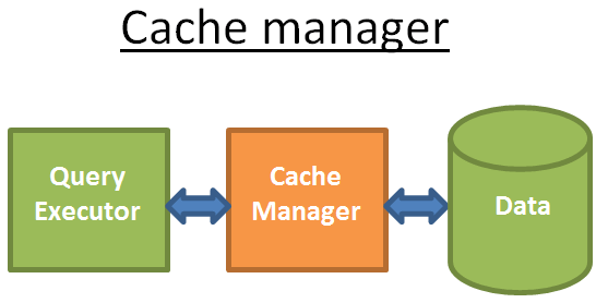 cache manager in databases